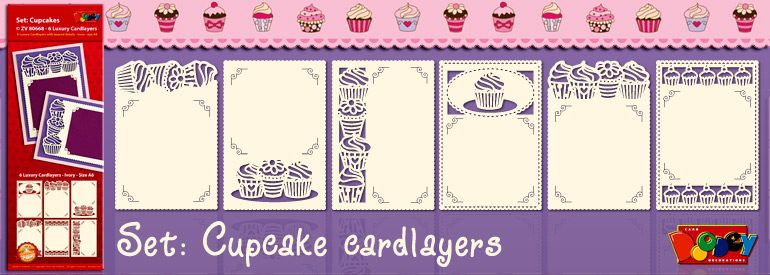set Cupcake cardlayers