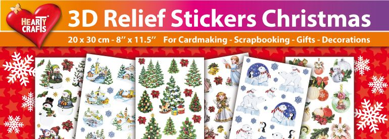 Relief Sticker Christmas