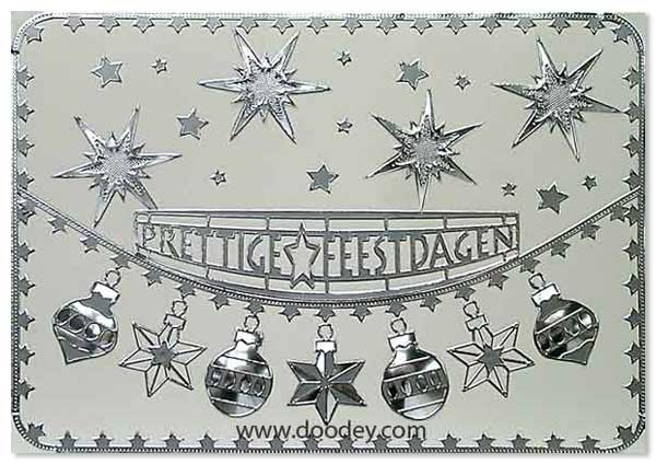 christmas card with different bells