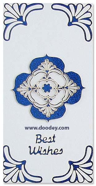 card best wishes corner corine