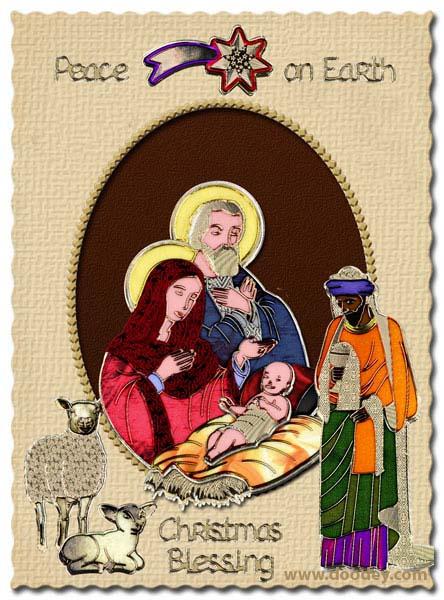 christmas match-it jesus and shepard