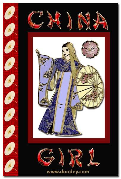 card china girl