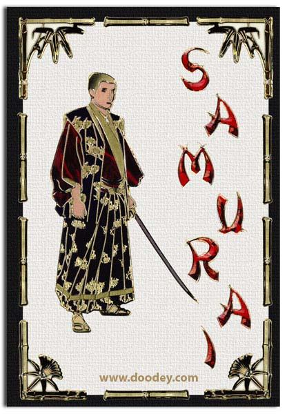 card samurai