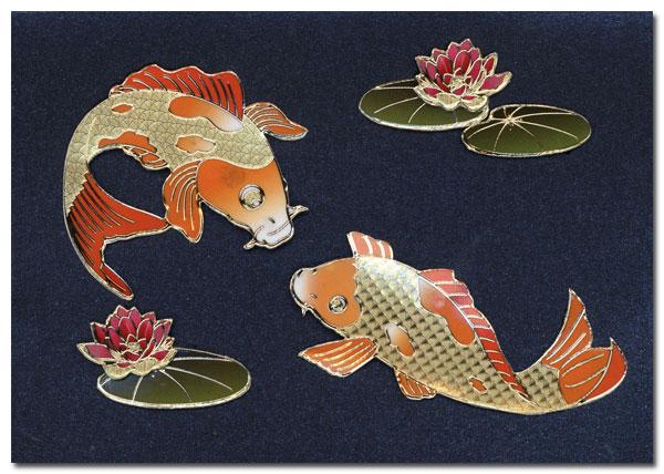 card chinese fish