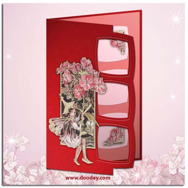 flower fairy card phlox