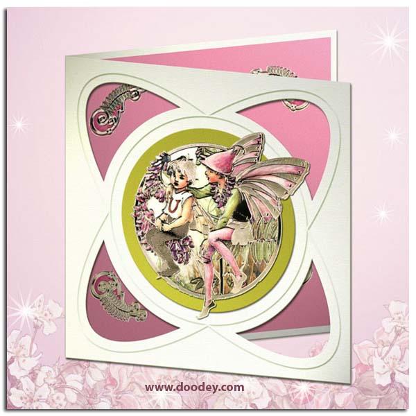 flower fairy card vetch