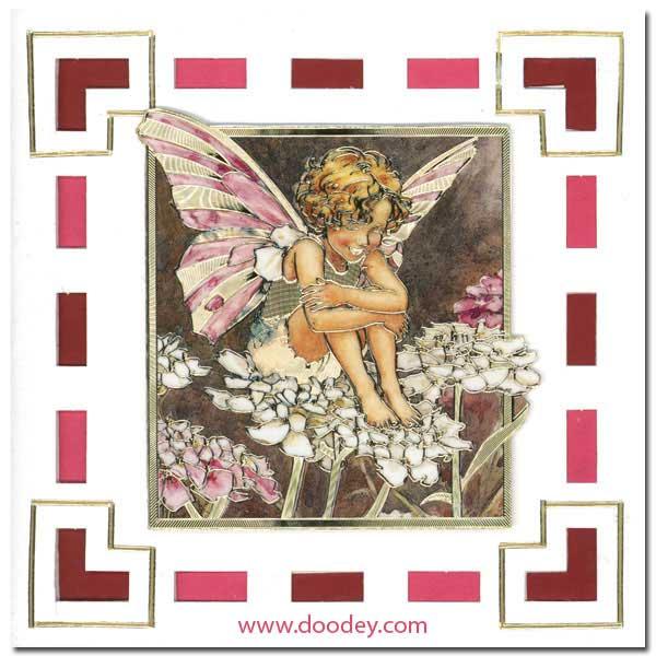 Card Flower Fairies