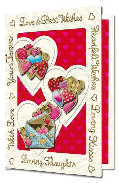 Valentine card 3D Envelope