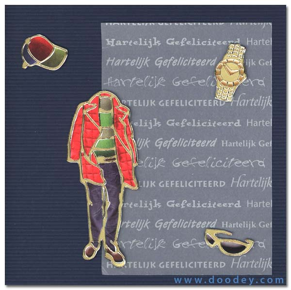 boys card fashion