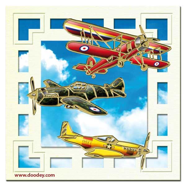 boys card aeroplanes