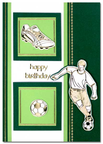 soccer card happy birthday