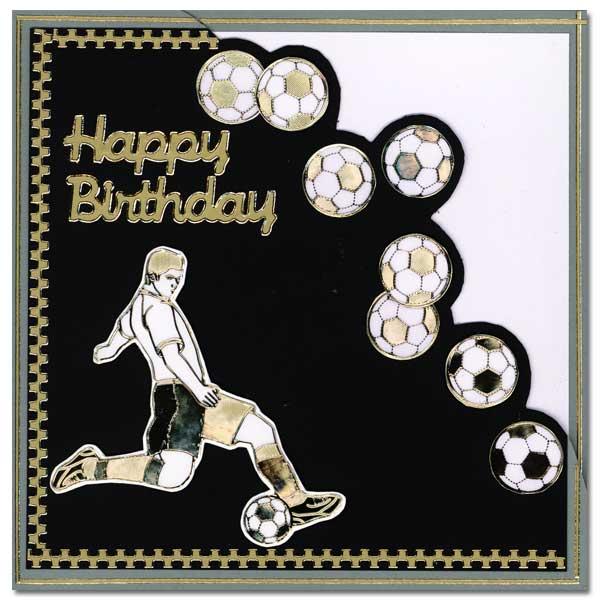 soccer card happy birthday