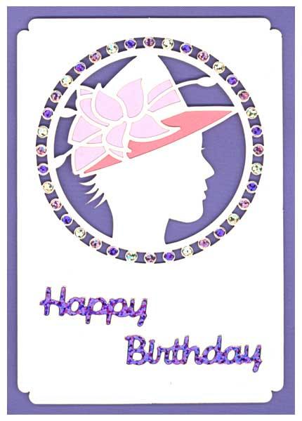 happy birthday card fashion
