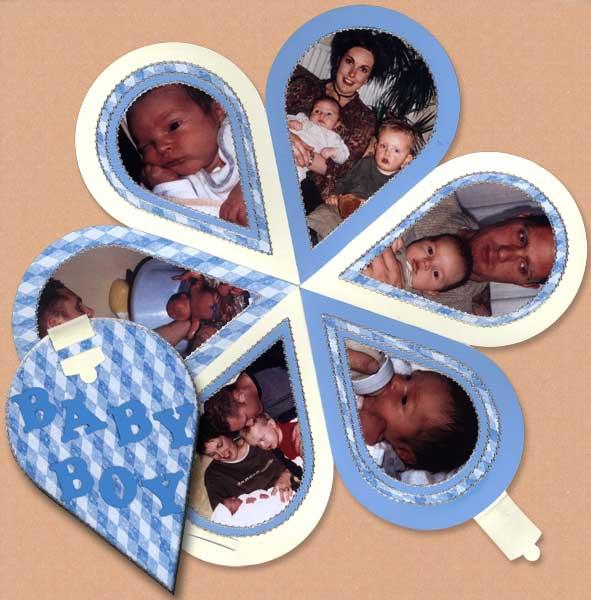 scrapbook birth book