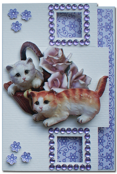 get well card with cats