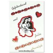 huwelijks kaart bruidspaar (2)
