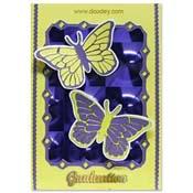 geslaagd met 2 vlinders
