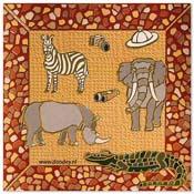 kaart safari