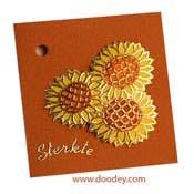 bloemenkaart sterkte zonnenbloem
