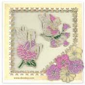 kaart elfjes met bloemen