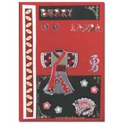 oriental match-it kimono kaart