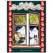 kerst match-it open raam