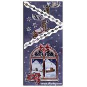 kerst match-it raam met rendier