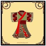 kaart chinese kimono