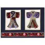 kaart kleine kimonos