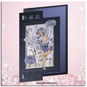 flower fairy korenbloem kaart