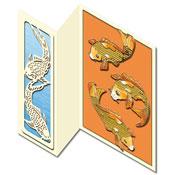 ori?ntaalse kaart met goudkarpers