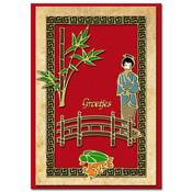ori?ntaalse kaart met chinese tuin