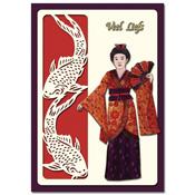 ori?ntaalse kaart veel liefs met geisha