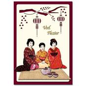 ori?ntaalse kaart veel plezier met geisha`s
