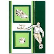 voetbalkaart happy birthday