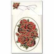 geschenk doosje met rozen