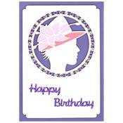 verjaardags kaart fashion
