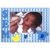 geboorte kaart met foto