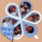 scrapbook geboorte boekje