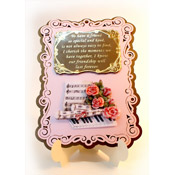 stand-easy card a5 met 3D rozen