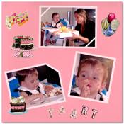 scrapbook pagina verjaardag
