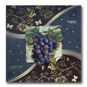 verjaardagskaart met druiven