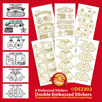 DS2302 Sticker set Mini Card Stickers