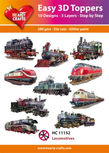 HC11152 Easy 3D-Toppers Locomotives