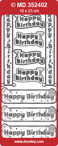 MD352402 Happy Birthday Banners