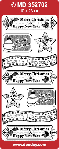 MD352702 Christmas labels Diverse (2)