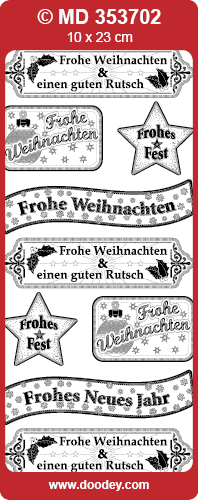 MD353702 Frohe Weihnachts Text Divers (2)