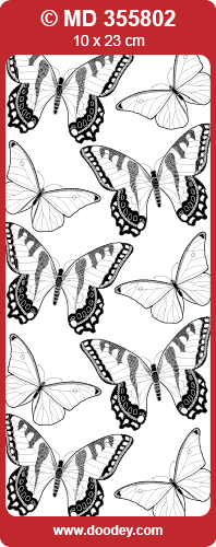 MD355802 Butterfly big small