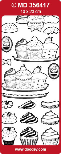 MD356417 3D Cupcakes