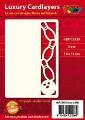 BPC5555 Luxury card layer A6 bowling